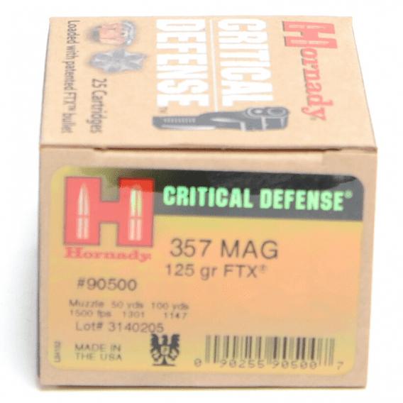 Critical Defense Ammunition